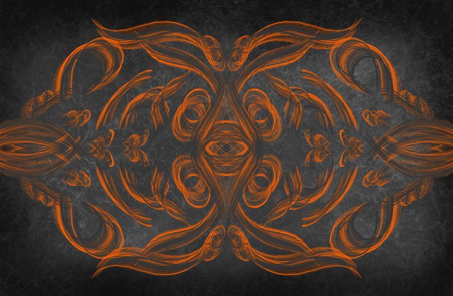 هنر خوشنویسی محفل خوشنویسی سپیده صاحبدل #نقاشی دیجیتال#۹۹#من زنده ام#چاپ روی بوم#سپیده-صاحبدل