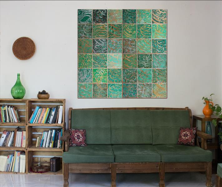 هنر خوشنویسی محفل خوشنویسی محمد مظهری