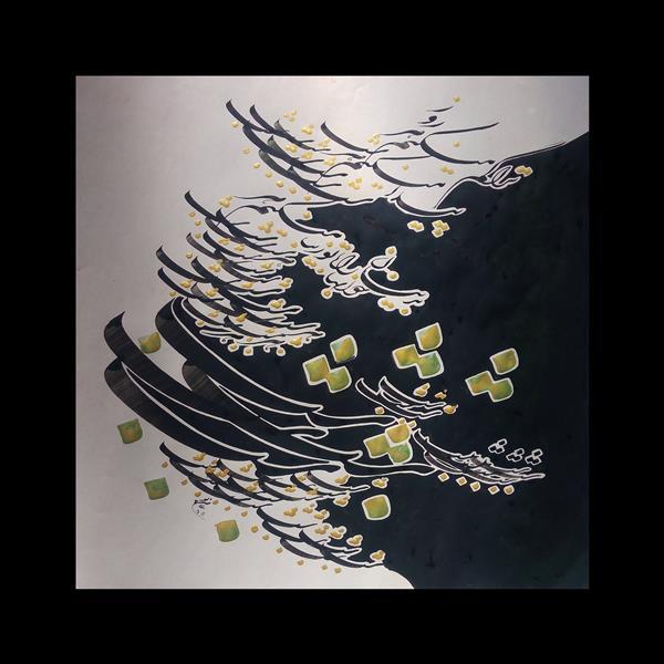 هنر خوشنویسی محفل خوشنویسی علی حسن پور شب و روز