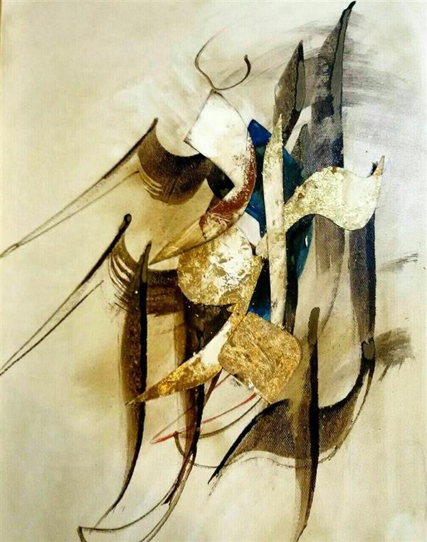 هنر خوشنویسی محفل خوشنویسی سید مهدى علوى