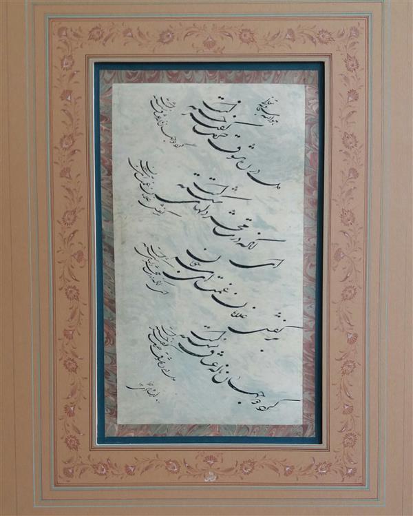 هنر خوشنویسی محفل خوشنویسی لیلا ارشادی