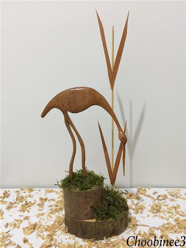 هنر سایر محفل سایر هنر ها رضا موسی خانی غزالِ خمیده با چوب گلابی.ارتفاع اثر : ٣٠ سانتیمتر