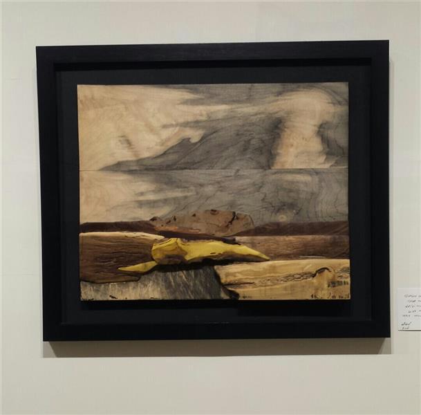 هنر سایر محفل سایر هنر ها زهرا رسولی چیدمان  از مجموعه مینیمال متریال:چوب اندازه :30 ×40