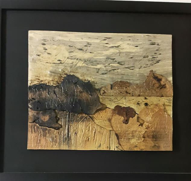 هنر سایر محفل سایر هنر ها زهرا رسولی چیدمان  از مجموعه مینیمال متریال: چوب اندازه 40× 50