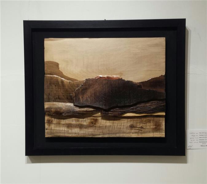 هنر سایر محفل سایر هنر ها زهرا رسولی چیدمان از مجموعه مینیمال انداز ه30×40