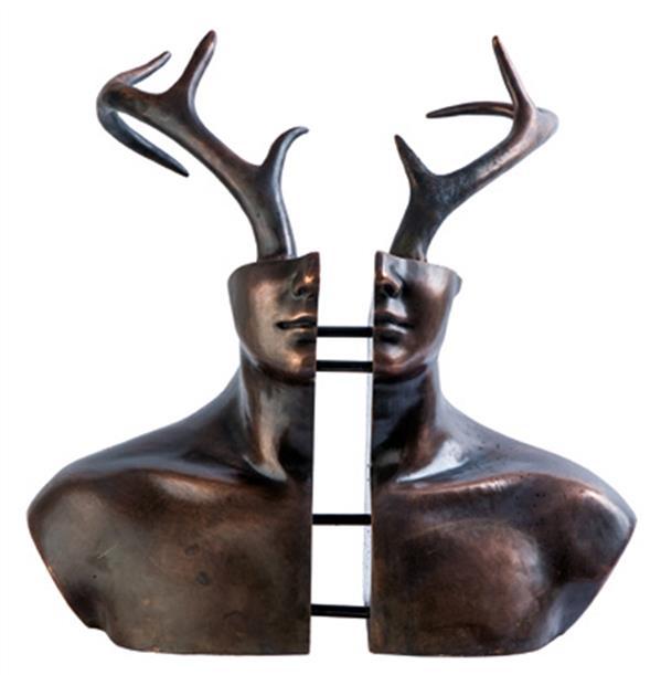 هنر سایر محفل سایر هنر ها 100honar هنرمند : قدرت الله عاقلی / پتینه برنز / از مجموعه عجایب مخلوقات #فروخته_شد #قدرت_الله_عاقلی #ghodratollahagheli
