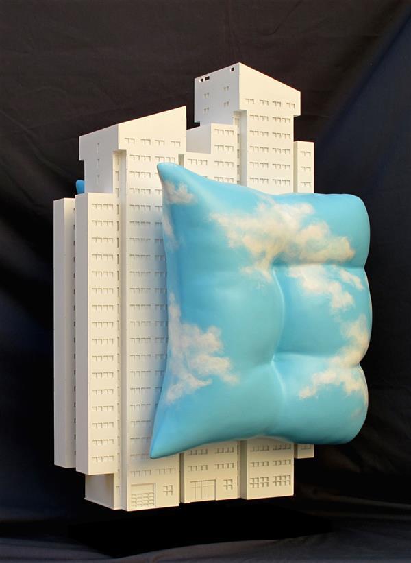 هنر سایر محفل سایر هنر ها 100honar هنرمند: کامبیز صبری / آن وقتها آسمان را جور دیگری میدیدم.  #فروخته_شد ادیشن AP