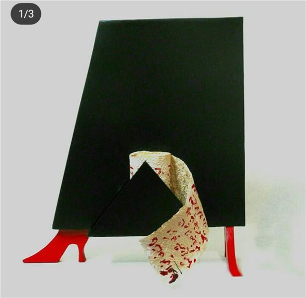 هنر سایر محفل سایر هنر ها Shoorijeh8183 نام اثر_الگو_آهن_ابعاد۴۰*۳۵*۱۰
