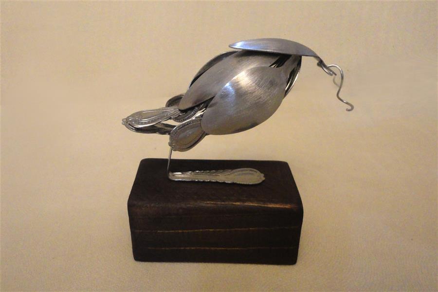 هنر سایر محفل سایر هنر ها سحر داسدار مجسمه مینیمال جنس فلز