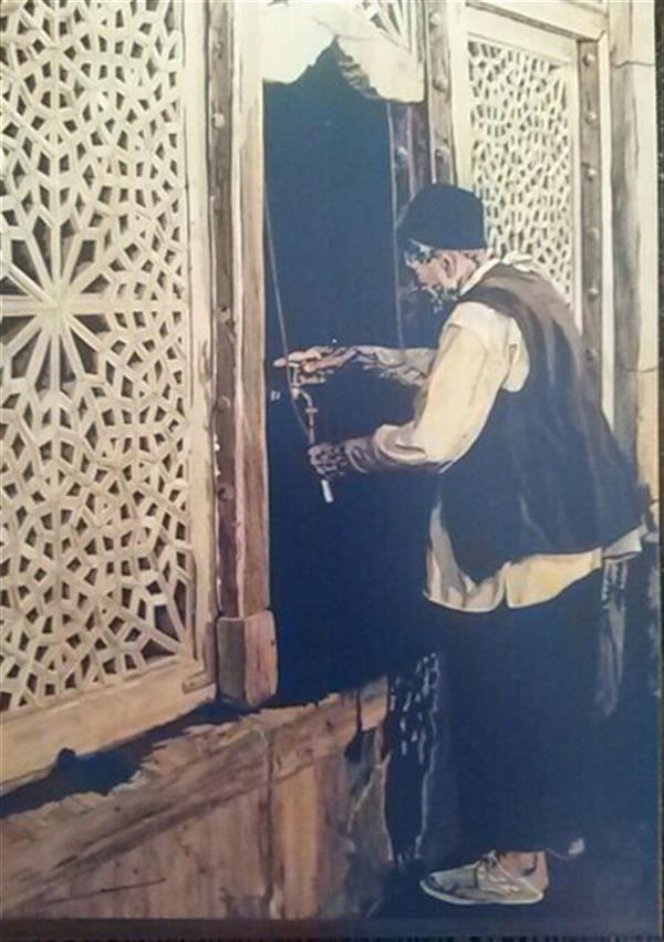 هنر سایر محفل سایر هنر ها پروانه سادات میرآفتابیان تابلو معرق سال ساخت 1385 چوبهای ( گردو ، نارنج، افرا ، ممرز ، شمشاد ، انجیلی ...) ابعاد 120*90 فروخته شده