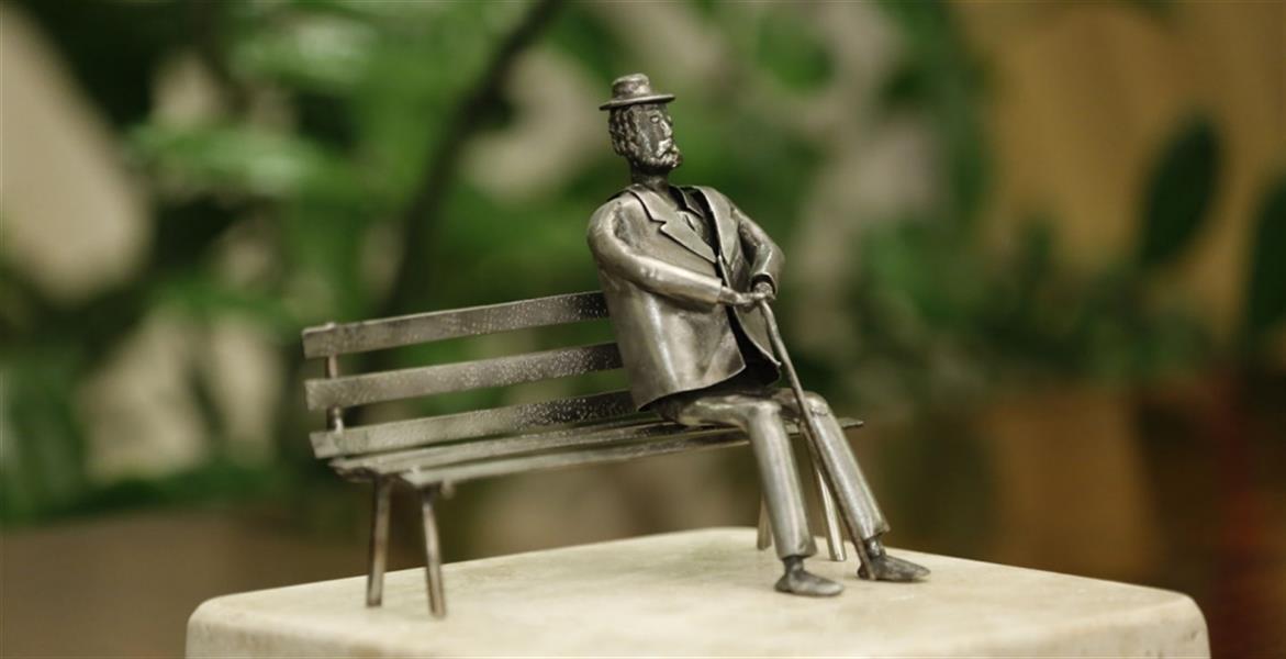 هنر سایر محفل سایر هنر ها ابراهیم یزدانی #مجسمه#تندیس از #ضایعات #ورق#فولاد