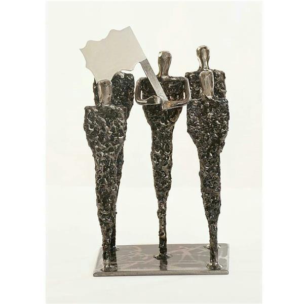 هنر سایر محفل سایر هنر ها شهاب صالحی shahabsalehi_art# #مجسمه فلزی شهاب. متریال:فلز ،آهن. ارتفاع 26سانتی متر کاملا دستساز