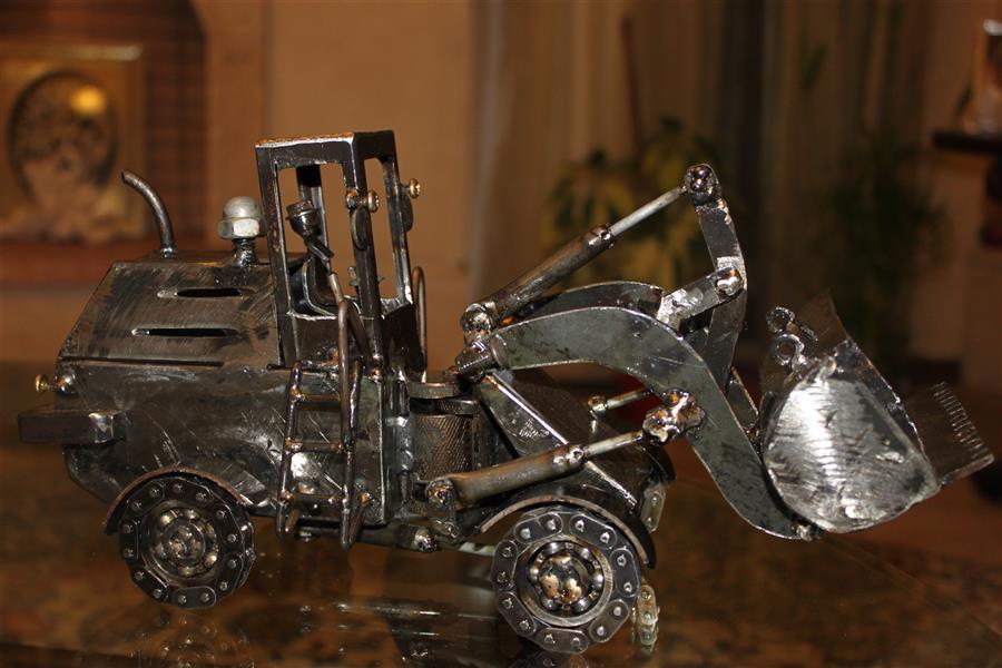 هنر سایر محفل سایر هنر ها جلال جداری دست ساخته فلزی ابعاد 14*18*35  متحرک #بازیافتی #مجسمه