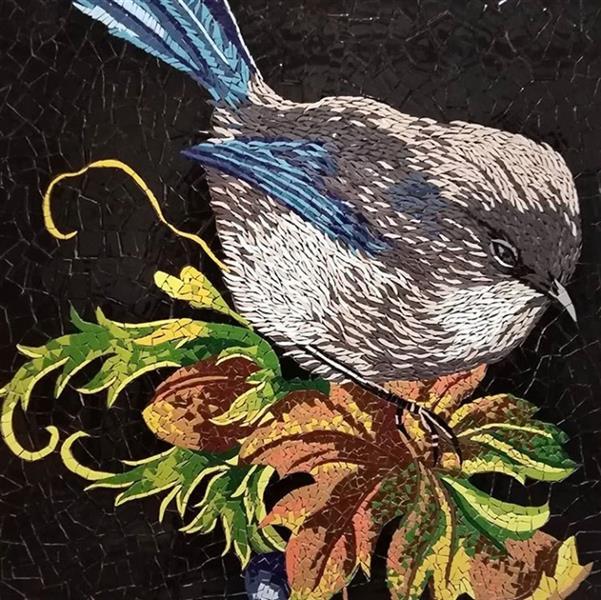 هنر سایر محفل سایر هنر ها تینا خلیلی نام اثر: بوی پاییز ابعاد: 50.70 #سرامیک