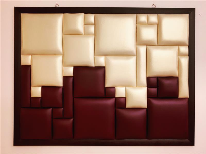 هنر سایر محفل سایر هنر ها الهام سیدقاسمی #افق متریال: چرم مصنوعی، ابعاد: ۸۸ در ۶۷ سانتیمتر