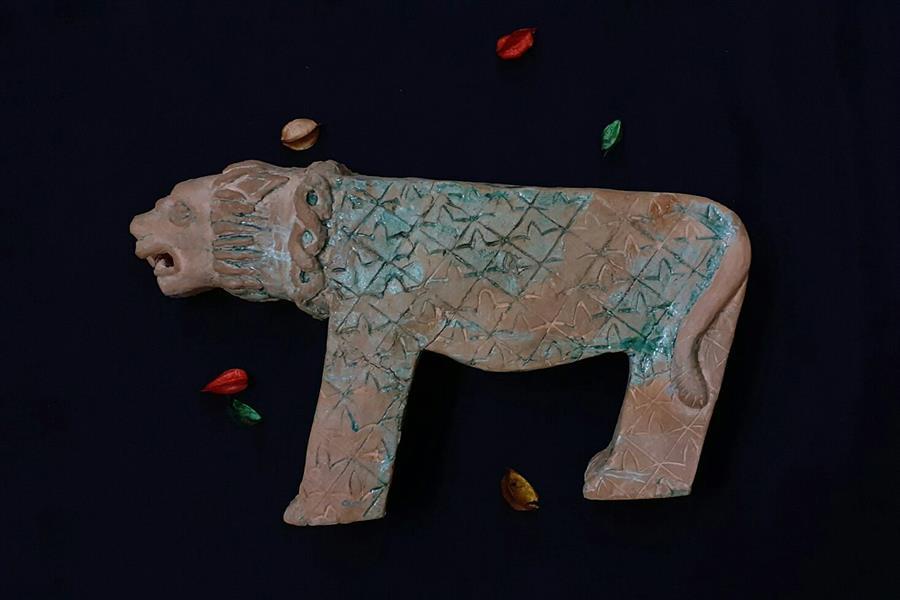 هنر سایر محفل سایر هنر ها سید علی ریحانی شرق #مجسمه #شیر_سنگی #نماد