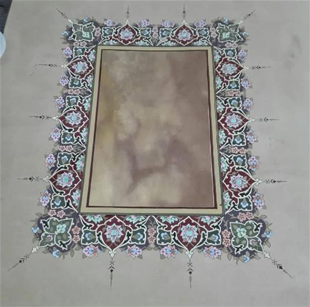 هنر سایر محفل سایر هنر ها mersana_1491 طرح حاشیه تذهیب مناسب برای تقدیر نامه