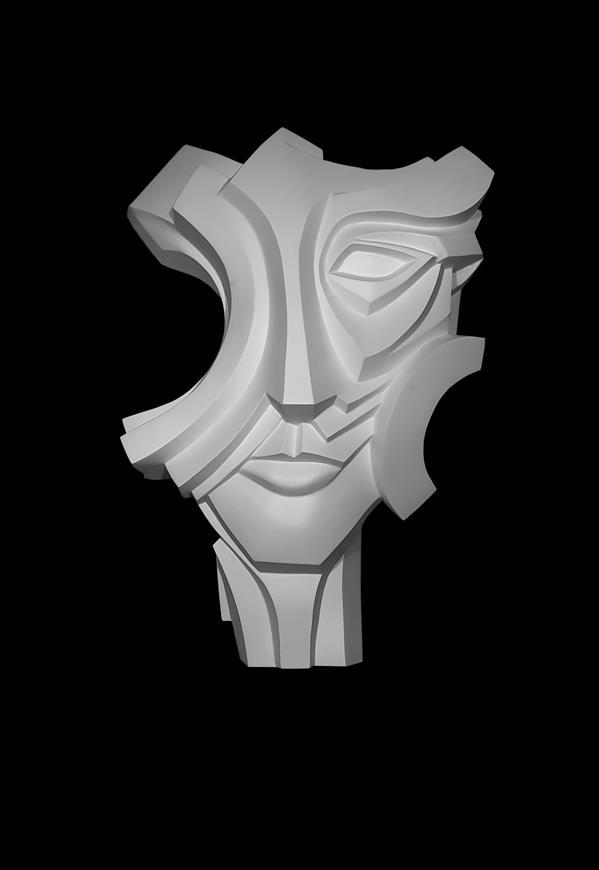 هنر سایر محفل سایر هنر ها نسرین یوسفی نقش برجسته دیواری عنوان : برافراشته جنس: فایبرگلاس ابعاد :۴۵×۲۵×۷۰ سال ساخت ۱۳۹۶ تک ادیشن