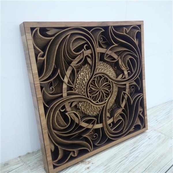 هنر سایر محفل سایر هنر ها مجید حداد تابلو چوبی سه بعدی #playwood #چوب