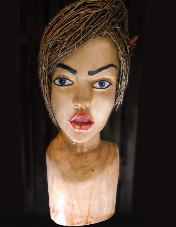 هنر سایر محفل سایر هنر ها میثم احمدی #مجسمه_چوبی #مجسمه_رخ #چوب_سپیدار ارتفاع :40 طول:13 عرض:8