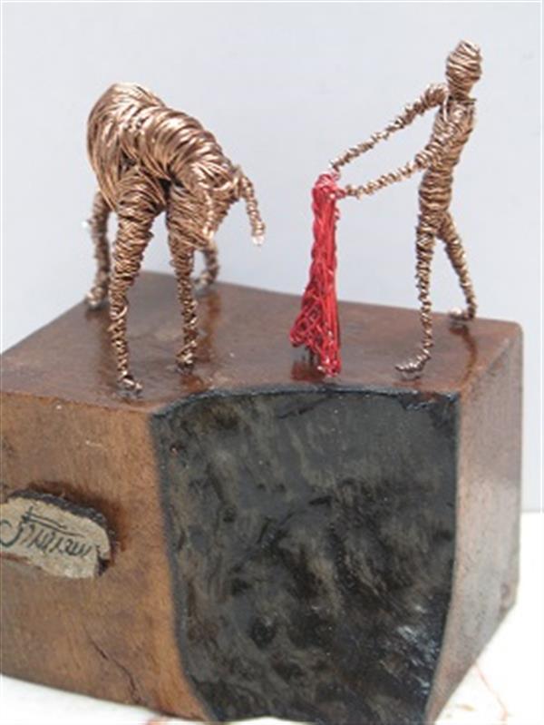 هنر سایر محفل سایر هنر ها سحر مهدوی متریال سیم ،ابعاد  ۵×۸ماتادور