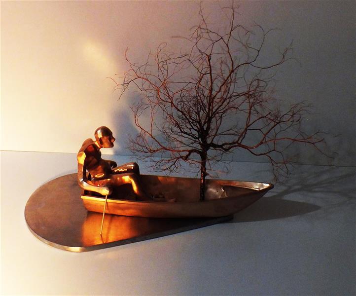 هنر سایر محفل سایر هنر ها کیوان بیرانوند ۶۰×۸۰×۵۰ برنز درختزندگی کیوان بیرانوند
