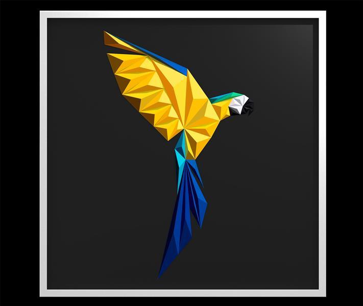 هنر سایر محفل سایر هنر ها امیر بابائی تابلو نقش برجسته (مثلث بندی با تکنیک اوریگامی ) خلق اثر : 1399 نام اثر: Rio متریال : مقوا فابریانو (220g) خالق اثر : امیر بابائی