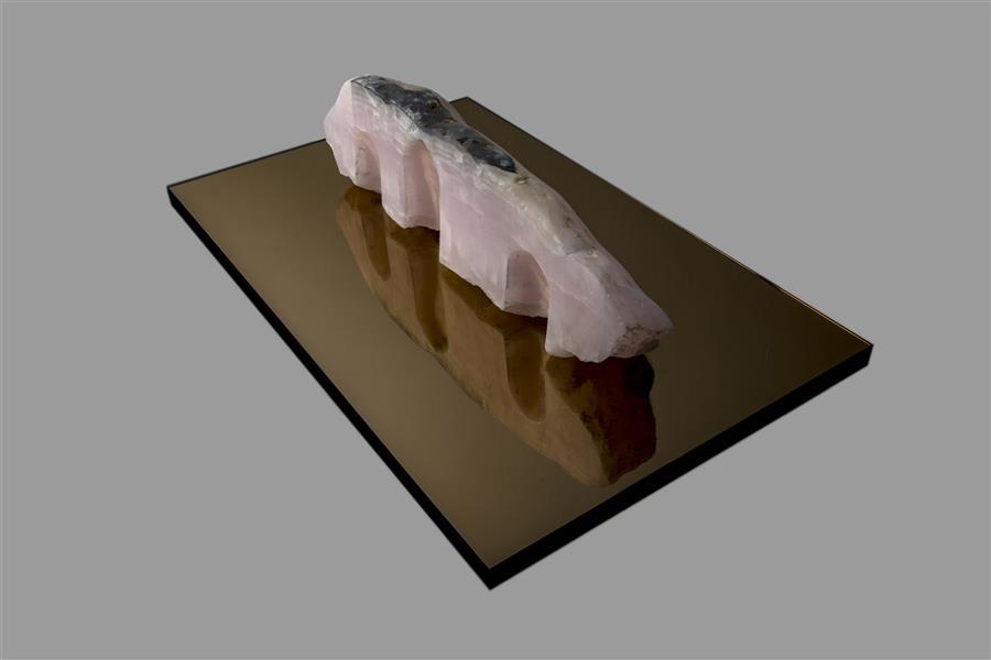 هنر سایر محفل سایر هنر ها لیلا سبیانی مجسمه سنگ وآینه سال ۹۷ نام: آپسو لیلا سبیانی