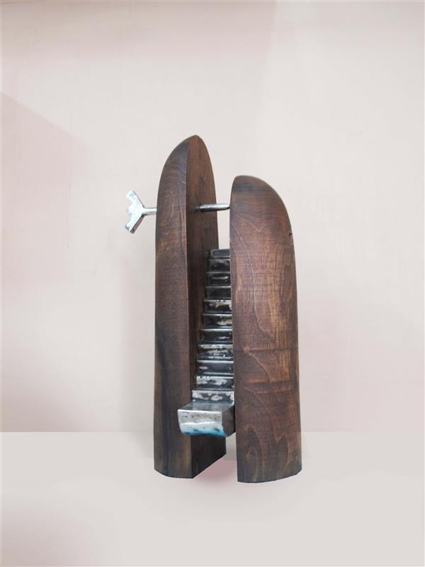 هنر سایر محفل سایر هنر ها حسین نخعی چوب و فلز سال ۹۸ از مجموعه برهوت