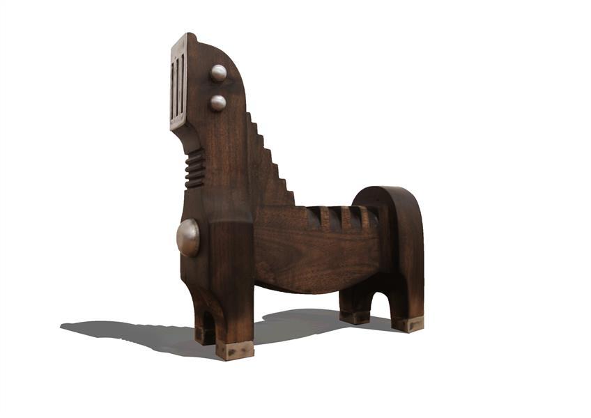 هنر سایر محفل سایر هنر ها حسین نخعی چوب و فلز سال۹۸ از مجموعه برهوت