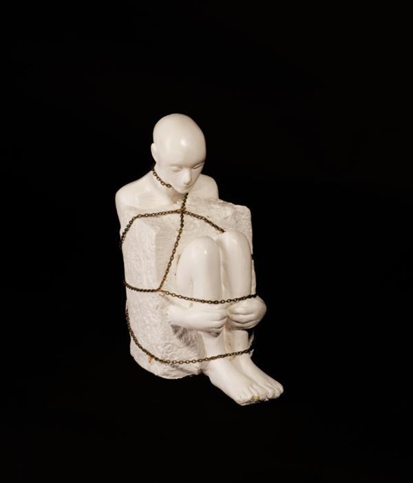 هنر سایر محفل سایر هنر ها شهناز اسکندری گچ ۱۳۹۷ باز کن بالها را! شهناز اسکندری #فروخته_شد