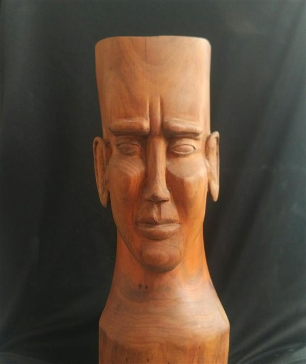 هنر سایر محفل سایر هنر ها سجاد اعترافی یک تکه تراشیده شده از چوب گیلاس