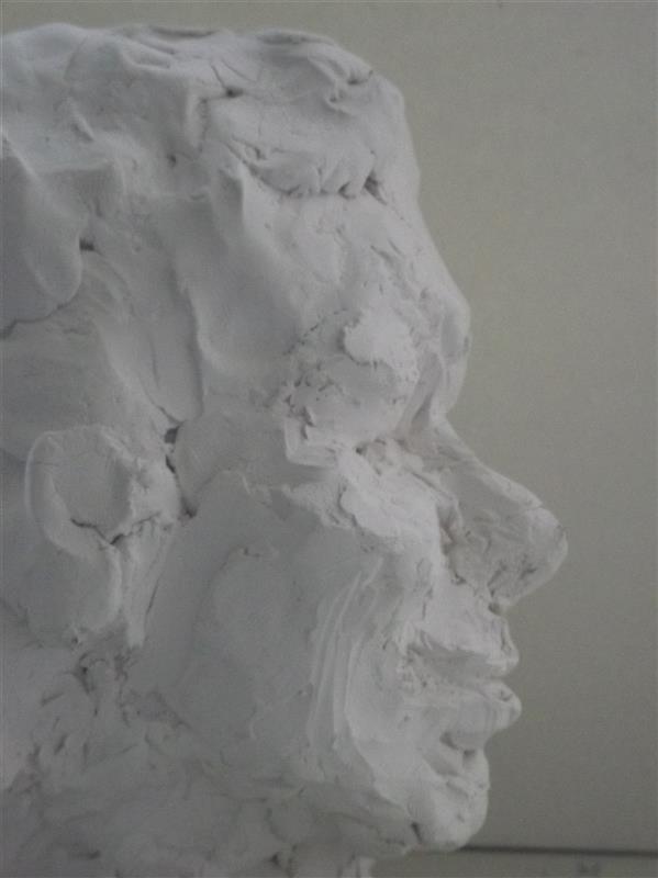هنر سایر محفل سایر هنر ها Soheil Azhary پرتره یک زن  -- جنس :سرامیک توپر پخته شده. بدون لعاب.
