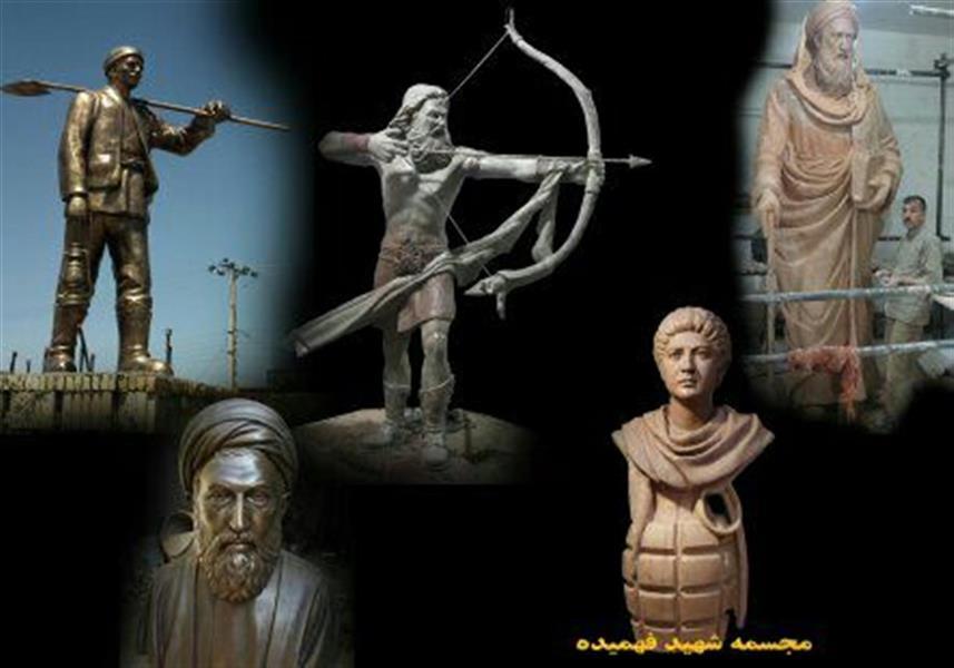 هنر سایر محفل سایر هنر ها حسین خیرآبادی آموزش مجسمه سازی #مجسمه_سازی #مجسمه #نقاشی #سیاه_قلم