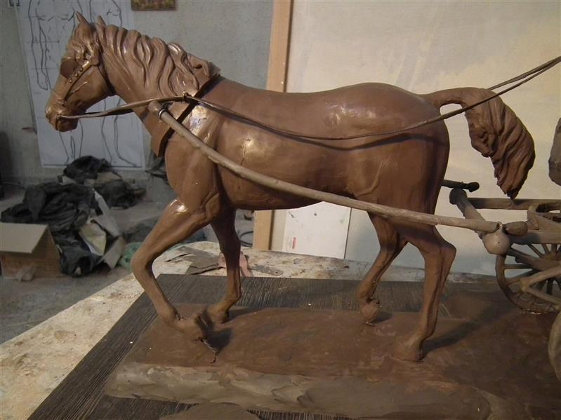 هنر سایر محفل سایر هنر ها حسین خیرآبادی قسمتی از مجسمه بشوق زیارت محمدحسین خیرابادی #مجسمه_سازی #مجسمه #نقاشی #سیاه_قلم
