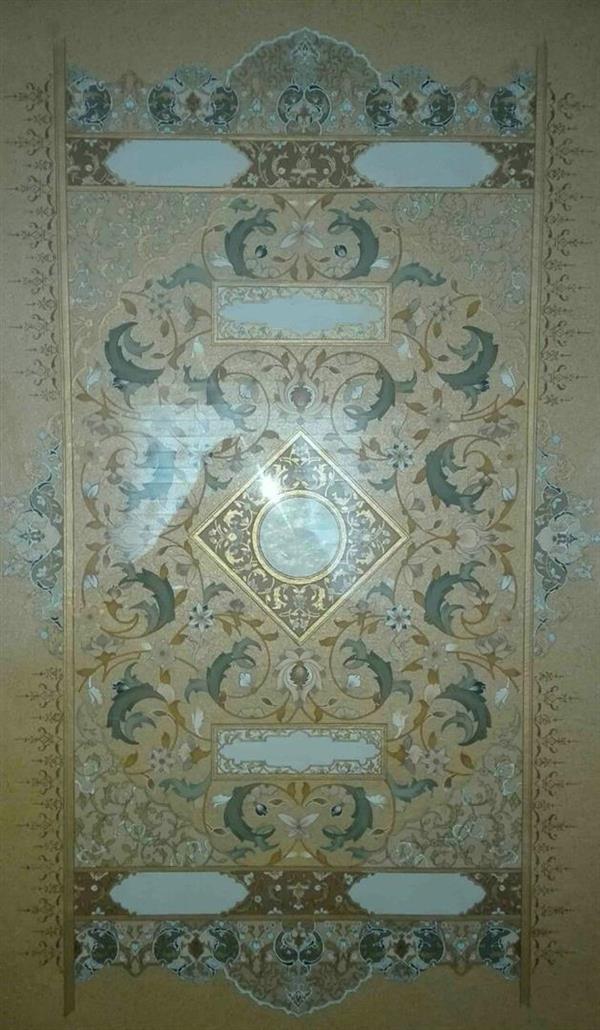 هنر سایر محفل سایر هنر ها شهریار خالدیان تابلو تذهیب و طراحی سنتی