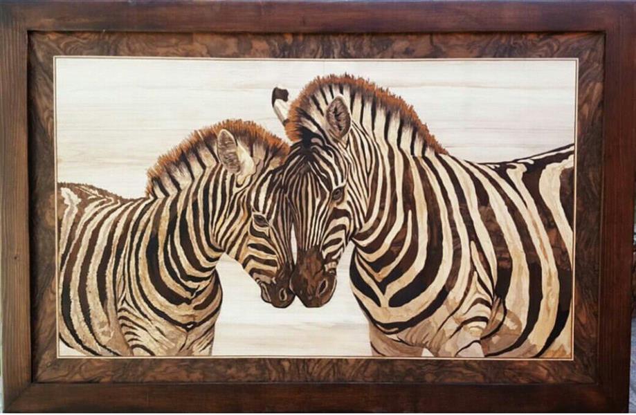 هنر سایر محفل سایر هنر ها لیلا استوان #معرق به سبک تفکیک رنگ چوبهای مورد استفاده : گردو ـ عناب ـ افرا ـ ممرز ـ گردو سوخته  اندازه تابلو ۱۰۰×۶۰