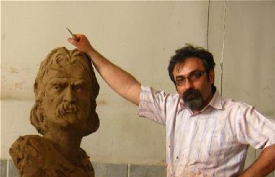 هنر سایر محفل سایر هنر ها صالح موسویان مدلسازی برای پرتره اساطیر ایران