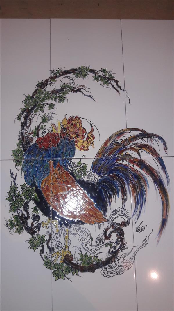 هنر سایر محفل سایر هنر ها آذر نگار خروس طلایی.۷۵در ۱متر