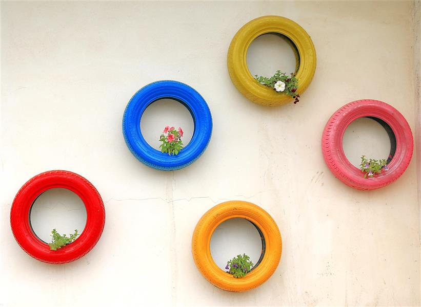 هنر عکاسی عکاسی مینیمال شمس ناتری حلقه های رنگین
