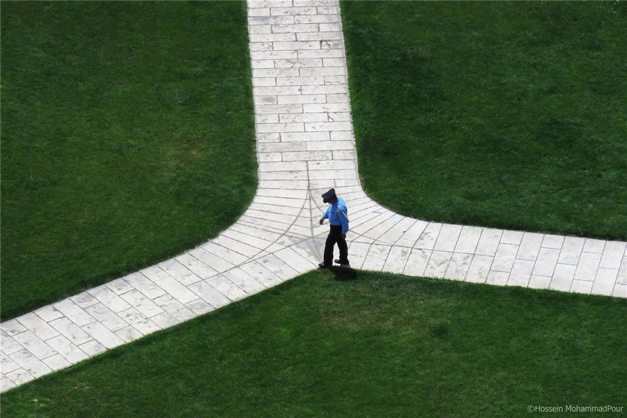 هنر عکاسی عکاسی مینیمال Hossein MohammadPour سرگشته