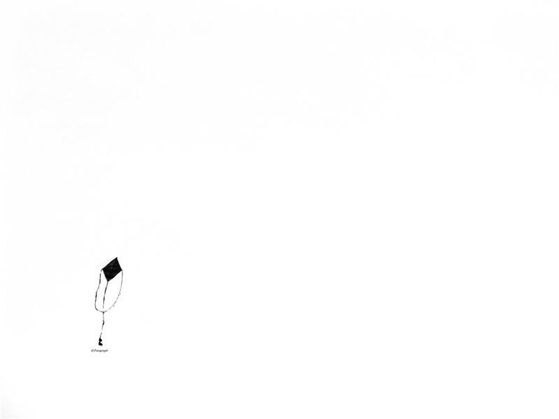 هنر عکاسی عکاسی مینیمال Fatagraph بادبادک
