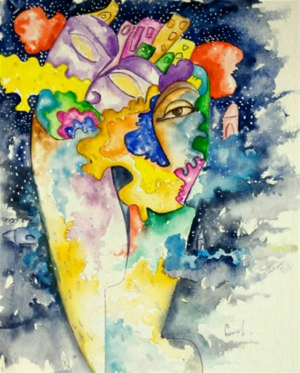 هنر نقاشی و گرافیک طرح گرافیکی عاشقانه asemunam تو در کمند من آیی؟ کدام دولت و بخت؟! من از تو روی بپیچم؟ کدام صبر و قرار؟!  #سعدی