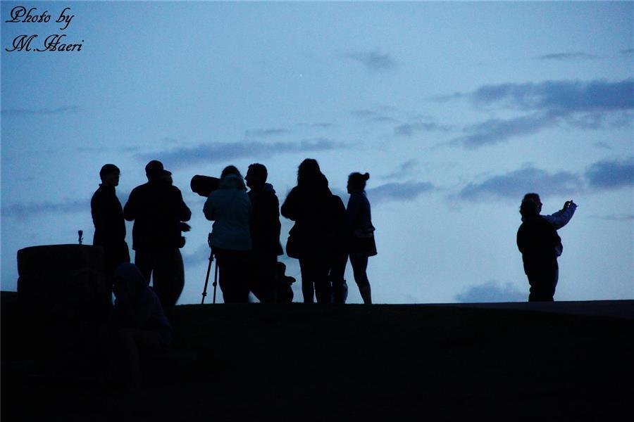 هنر عکاسی عکاسی در شب Mhaeri Silhouette