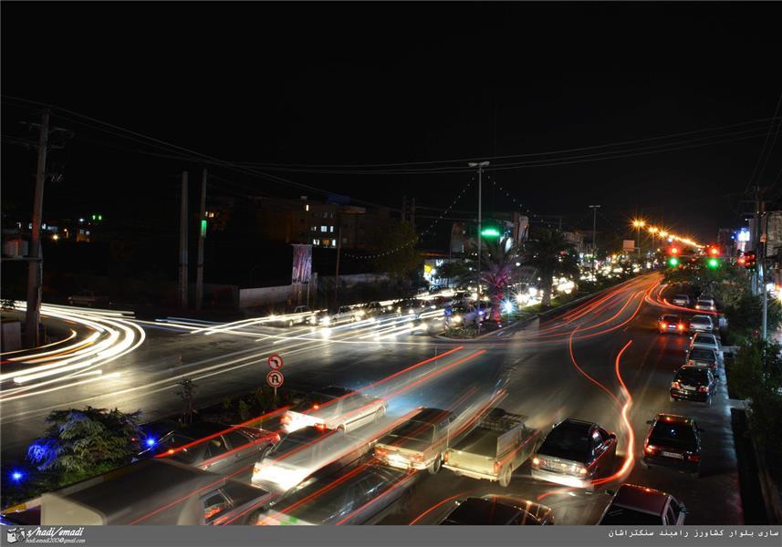 هنر عکاسی عکاسی در شب Seyed hadi emadi عکاسی نوردهی طولانی استان مازندران شهر ساری