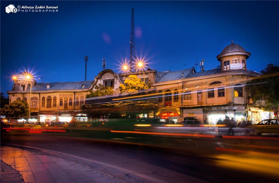 هنر عکاسی عکاسی در شب علیرضا ظهیری سروری میدان امام همدان