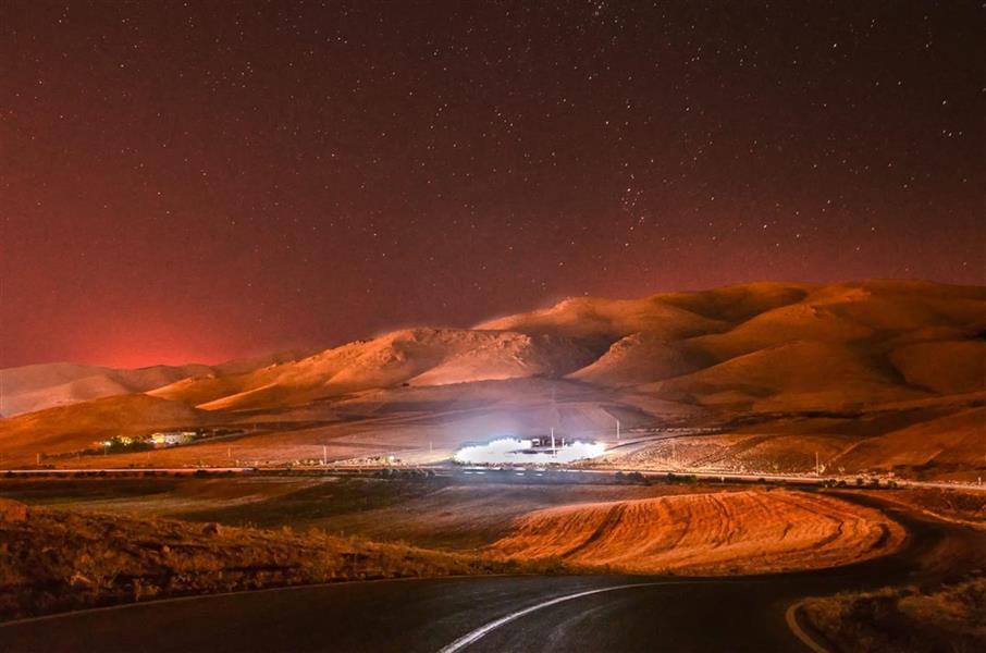 هنر عکاسی عکاسی در شب پوریارشیدی آسمان شب نهاوند
