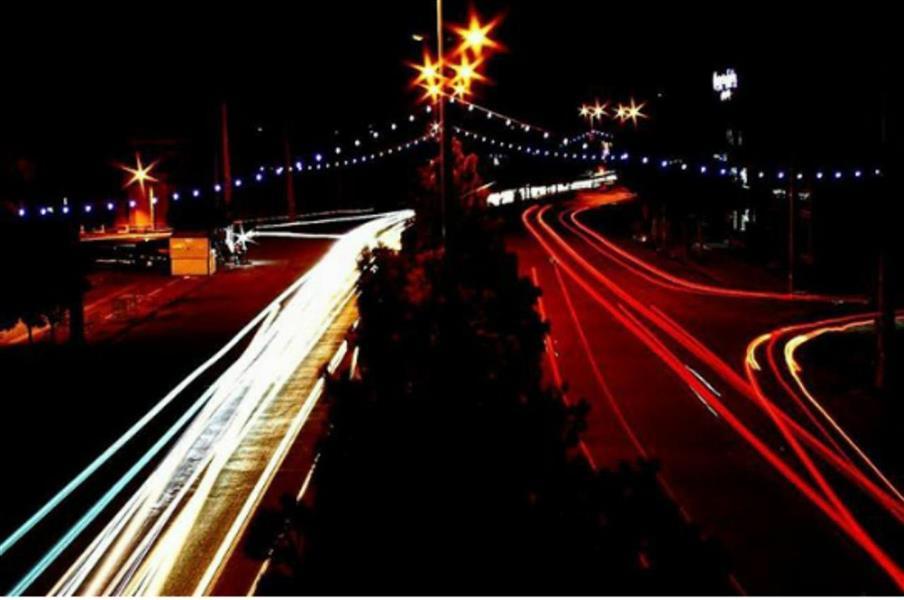 هنر عکاسی عکاسی در شب محمد فیاضی لانگ اکسپوژر _ بازارچه خود اشتغالی شهرستان نقده