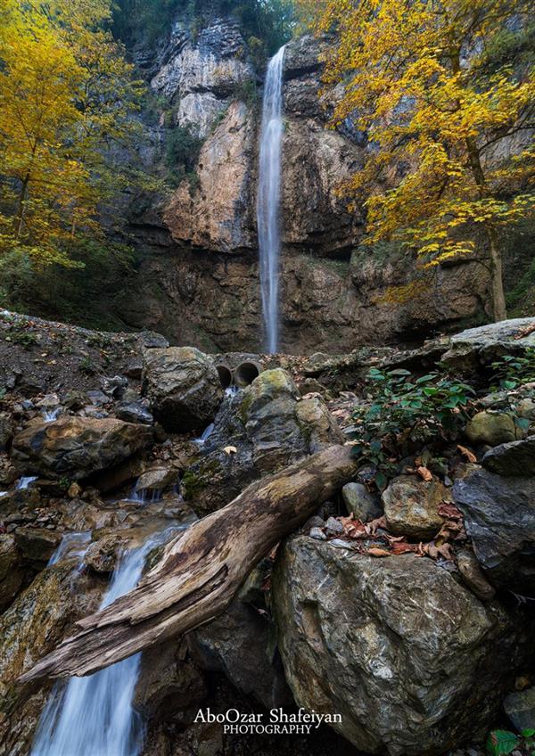 هنر عکاسی عکاسی لنداسکیپ منظره aboozar آبشار تودارک تنکابن دوربین nikon d610