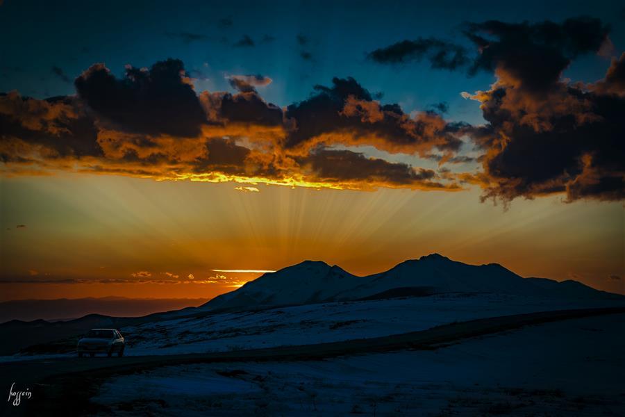 هنر عکاسی عکاسی لنداسکیپ منظره حسین یزدانفر طبیعت زیبای الموت / قزوین
